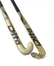 Dita MegaPro C20 J-Shape Lowbow Gold/Black zaalhockeystick