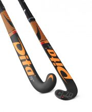 Dita FiberTec C70 J-Shape Lowbow Orange/Black zaalhockeystick