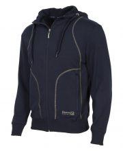 Reece Hooded Full Zip Sweater