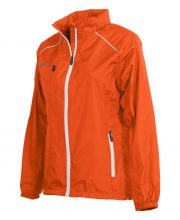 Reece Breathable Tech Jack Dames Oranje