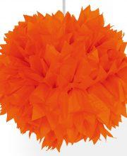 Pompom Oranje 30cm,