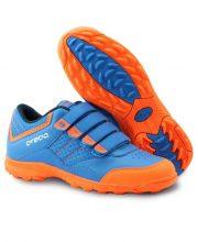 Brabo Velcro hockeyschoenen – Blue/Orange