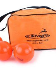 Stag 12 Mini Hockey Ballen Oranje