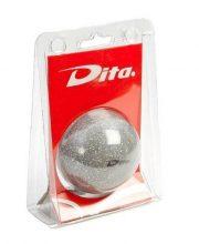 Dita bal in blister Silver glitter