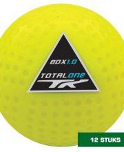 TK 12 stuks 1.0 FIH Dimple hockeybal geel