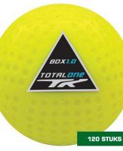 TK 120 stuks 1.0 FIH Dimple hockeybal geel