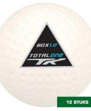 TK 12 stuks 1.0 FIH Dimple hockeybal wit