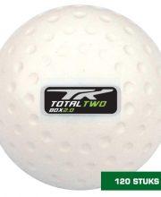 TK 120 stuks 2.0 Plus Dimple hockeybal wit