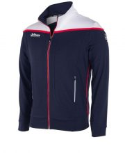 Reece Varsity Stretched fit jacket full zip unisex Navy