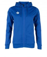 Reece Cleve TTS Hooded Top FZ Dames – Royal