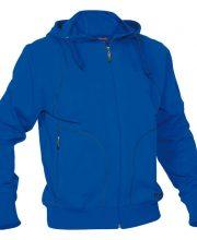 Reece Hooded Sweat Full Zip Unisex Blauw | DISCOUNT DEALS
