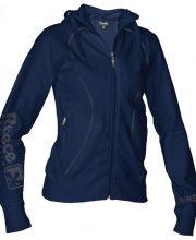 Reece Hooded Sweat Full Zip Dames Marineblauw SR | DISCOUNT DEALS