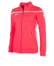 Reece Varsity Stretched Fit Jacket Full Zip Dames Roze