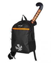 Reece Derby Backpack – Black/Orange