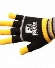 Reece Knitted Player Glove 2 in 1 Zwart/Geel