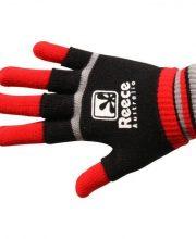 Reece Knitted Player Glove 2 in 1 Zwart/Rood