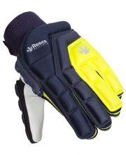 Reece Elite Protection Glove Full Finger – Navy/Yellow