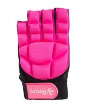Reece Comfort Half Finger Glove – Pink