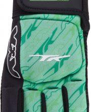 TK Total Three 3.5 Handschoen Halve Vingers Links Groen