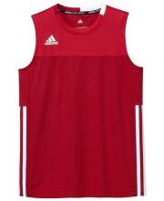 Adidas T16 Climacool Sleeveless Tee Jeugd Jongens Red DISCOUNT DEALS