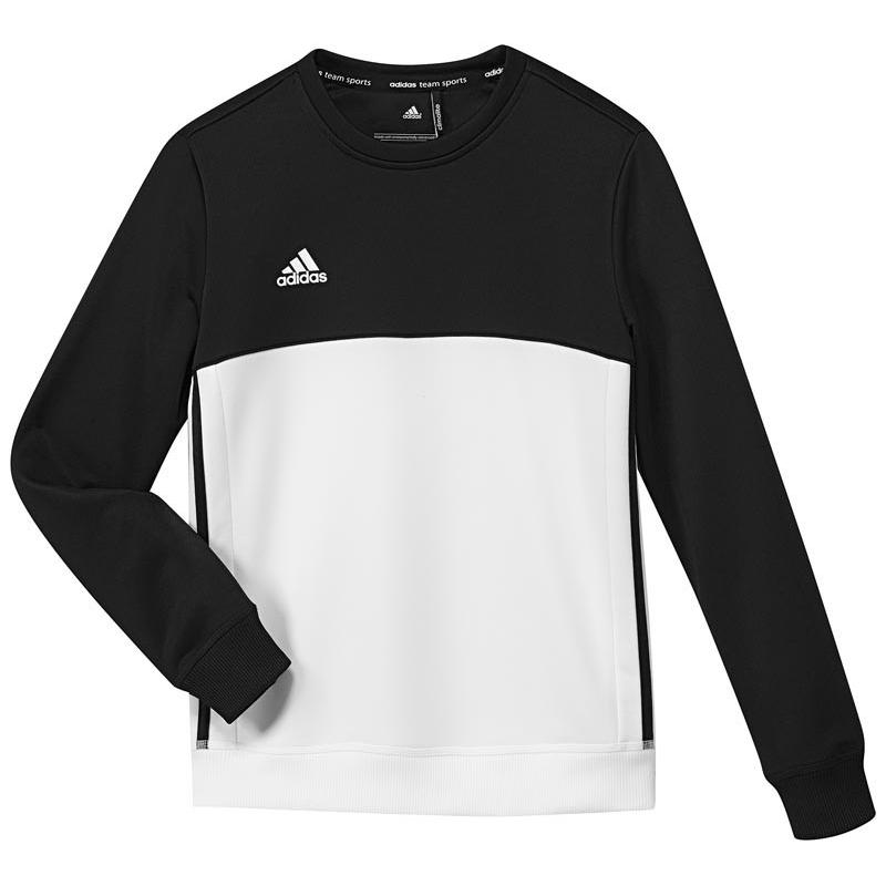 Adidas T16 Crew Sweat Jeugd Black DISCOUNT DEALS Hockey Winkel