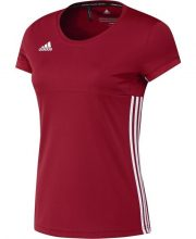 Adidas T16 Team Short Sleeve Tee Women Red