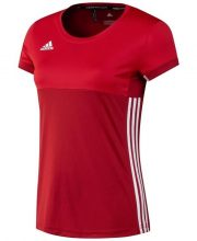 Adidas T16 Climacool Short Sleeve Tee Women Red DISCOUNT DEALS