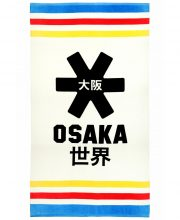 Osaka Beach Towel – White