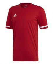 Adidas T19 Short Sleeve Tee Heren Rood
