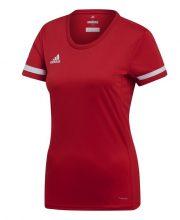 Adidas T19 Short Sleeve Tee Dames Rood