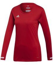 Adidas T19 Long Sleeve Tee Dames Rood