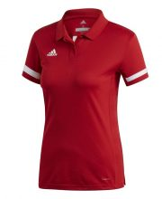 Adidas T19 Polo Dames Rood