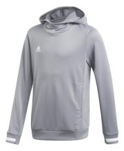 Adidas T19 Hoody Jr Grijs