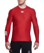 Canterbury Thermoreg Long Sleeve Top – Red