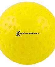 Hockeygear.eu wedstrijd hockeybal dimple geel
