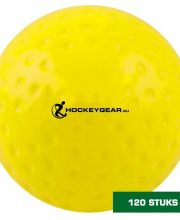 Hockeygear.eu 120 stuks wedstrijd hockeybal dimple geel