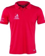 Don Quishoot polo heren rood