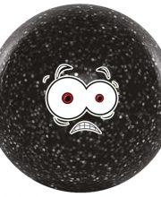 Hockeygear.eu hockeybal Emoticon | glitter zwart fear