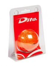 Dita bal in blister Orange glitter