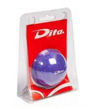 Dita bal in blister Purple glitter
