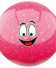 Hockeygear.eu hockeybal Emoticon | glitter roze smile