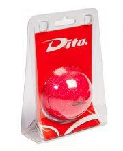 Dita bal in blister Pink glitter