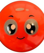 Hockeybal Emoticon / Smiley | Orange friendly