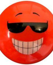 Hockeybal Emoticon / Smiley | Orange Sunglasses