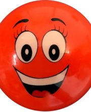 Hockeybal Emoticon / Smiley | Orange Smile