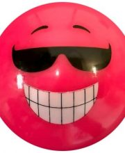 Hockeybal Emoticon / Smiley | Pink Sunglasses