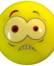 Hockeybal Emoticon / Smiley | Yellow Fear