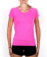 Osaka Tech Knit Short Sleeve Tee Women – Pink Melange | 40% Discount Deals