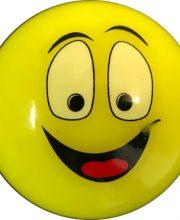 Hockeybal Emoticon / Smiley | Yellow Smile