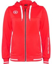 The Indian Maharadja Women Tech Hooded Red